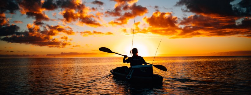 Fishing Boat at Sunset: The Modest Reader