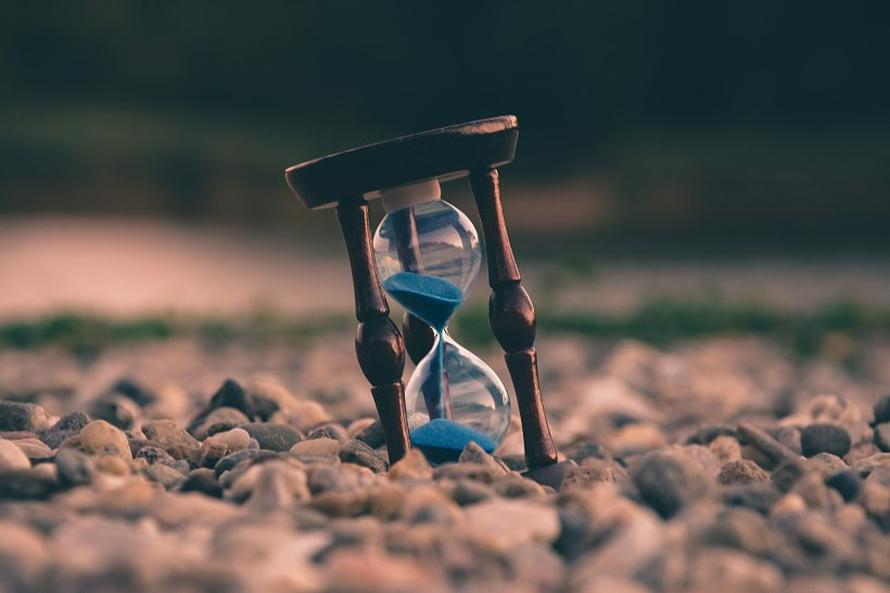 Time Is Running Out by Aron Visuals on Unsplash: They Both Die at the End by Adam Silvera (The Modest Reader)