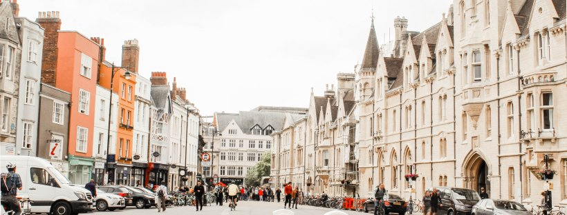 Oxford by Hannah Petersen on Unsplash: My Oxford Year by Julia Whelan (The Modest Reader)