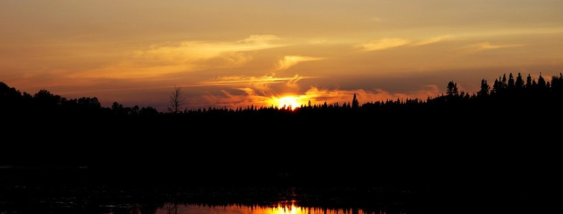 Gander Bay Lake Sunset: The Modest Reader