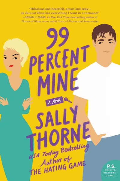 99 Percent Mine by Sally Thorne (Book Cover): The Modest Reader