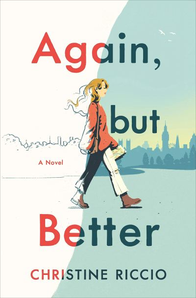 Again, but Better by Christine Riccio (Book Cover): The Modest Reader