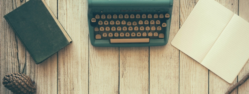 Typewriter by Dustin Lee on Unsplash: Where There's a Will by Beth Corby (The Modest Reader)