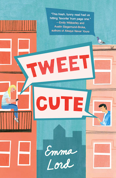 Tweet Cute by Emma Lord (Book Cover): The Modest Reader