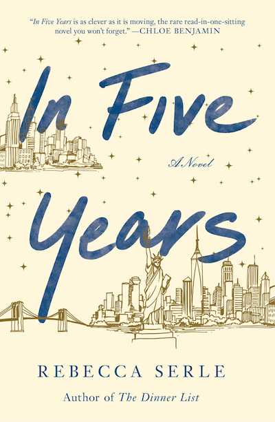 In Five Years by Rebecca Serle (Book Cover): The Modest Reader