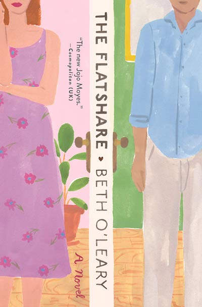 The Flatshare by Beth O'Leary (Book Cover): The Modest Reader