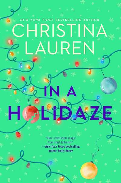 In A Holidaze by Christina Lauren (Book Cover): The Modest Reader