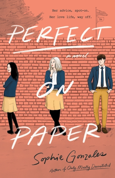 Perfect On Paper (Book Cover) by Sophie Gonzales: The Modest Reader