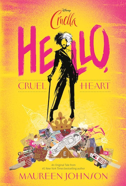 Hello, Cruel Heart (Book Cover) by Maureen Johnson: The Modest Reader